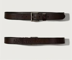 Cinturón De Cuero Abercrombie Importado De Eeuu Talla 30 31