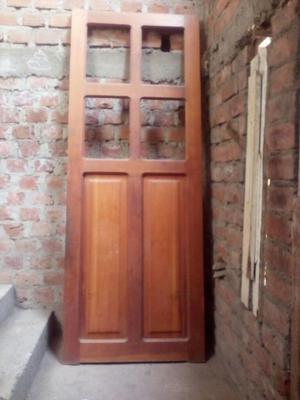 Puerta de Cedro para Cocina