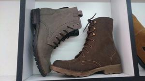 Vagoo Botas Militar Tácticas, Calzado Hombre Zapatos Vestir