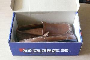 Vendo Zapatos Sport De Cuero Dauss Talla 43 Nuevo En Caja