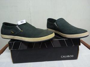 Zapato Casual Calimod Talla 41 Y 43 Color Azul Nuevo En Caja