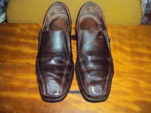 Zapatos Calimod Usado Puro Cuero Talla 42.5-43 Alta Calidad