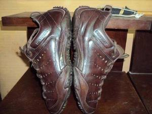 Zapatos Caterpillar De Cuero Usados T-42-9 Usa Originales Ok