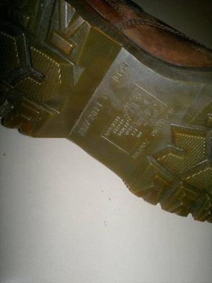 Zapatos De Cuero Dr Martens Made In England Modelo Vintage