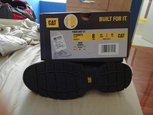 Zapatos De Seguridad Cat Fuselage Ct Talla 8 (41) 100% Nuevo