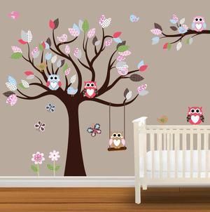 decoracion con viniles fotomurales casas cuartos de niños