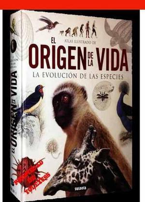 Atlas Ilustrado De Origen De La Vida-evolucion De Las Especi