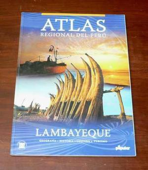 Atlas Regional Del Perú Lambayeque El Popular Geografía