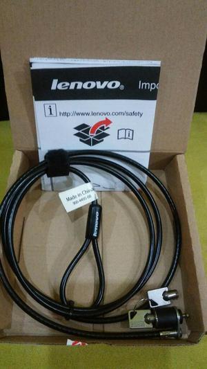 Cable de Seguridad Marca Lenovo nuevo