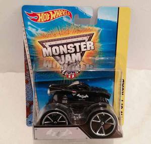 Carro Hot Wheels Monster Jam Nea Police Juguete Posot Class