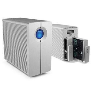 Disco Duro Externo LaCie 4TB y 6TB 2big Quadra USB 3.0 2Bay