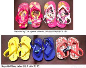 Disney Y Old Navy Sandalias Minnie Dra Juguete Originales Us