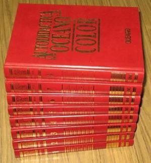 Enciclopedia Autodidáctica Oceano Color 8 Tomos 1997