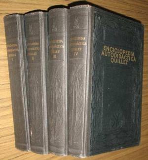 Enciclopedia Autodidáctica Quillet 3 Tomos Matemática