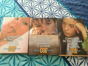 Enciclopedia Consultor De Psicología Oceano 3 Tomos