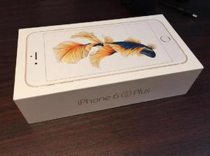 IPHONE 6S PLUS DORADO 64 GB NUEVO LIBRE Y EN CAJA