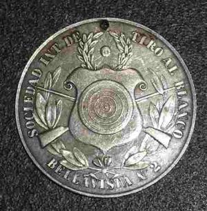 Medalla Sociedad De Tiro Al Blanco Bellavista N 2 Callao Wyw
