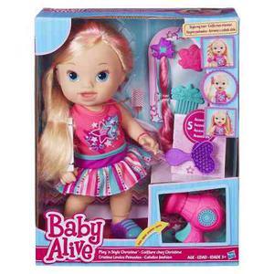 Muñeca Baby Alive Cristina Lindos Peinados Juguetes Niñas