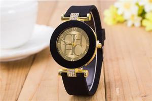 Reloj De Silicona Ch Moda Ch