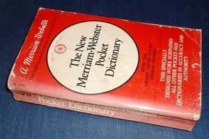 The New Merriam Webster Pocket Dictionary Inglés