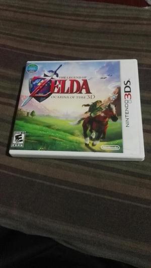 Vendo juego 3ds zelda ocarina of time