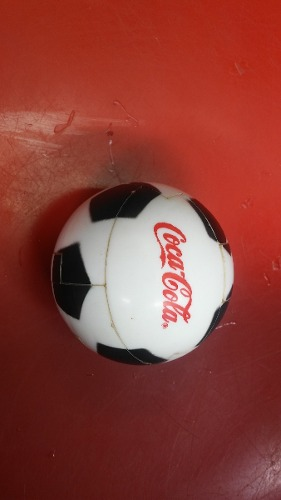 Antigua Pelota Armable Coca Cola