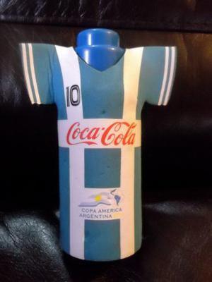 Botella De Coleccion Coca Cola Camiseta Seleccion Argentina