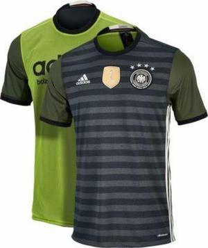 Camiseta Alemania Reversible Adidas Original - Talla M
