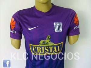 Camiseta De Alianza Lima 2016 Morada - Nike Original Talla M