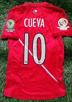 Camiseta Perú Copa América 2016 Cueva Usada En Juego