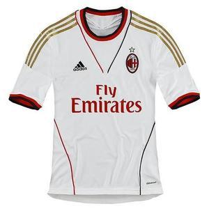 Camiseta Polo Adidas Ac Milan Madrid En Stock Talla Small