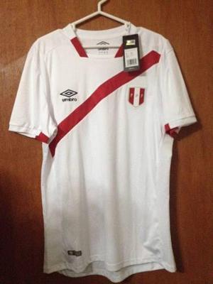 Camiseta S. Peruana Copa Centenario Talla L Umbro 2016 Nueva