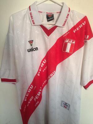 Camiseta Selección Peruana 1999 Original Walon Talla M