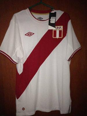 Camiseta Selección Peruana Modelos 2011 Umbro Talla M Y L