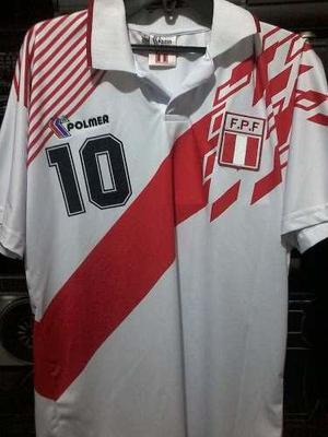 Camiseta Seleccion Peruana Polmer 1993 Ultima En Stock!