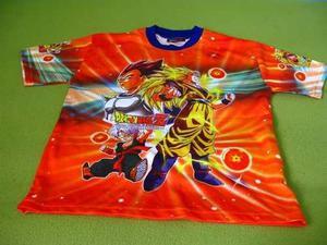 Dragon Ball Polo Camiseta Deportiva De Vestir Para Niños