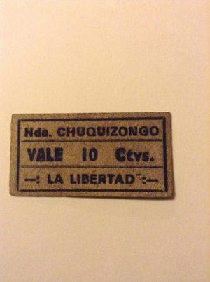 Escaso Vale De La Hacienda Chuquizongo - La Libertad