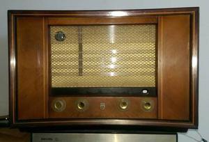 Radio Philips A Tubos, No Sansui Grundig Telefunken Pioneer