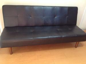 Sofa Cama De Cuero Marroquin.