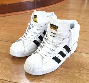 Zapatillas Adidas Superstar talla 36 con taco