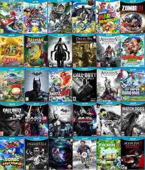 Juegos Nintendo Wii U Originales (promoción)