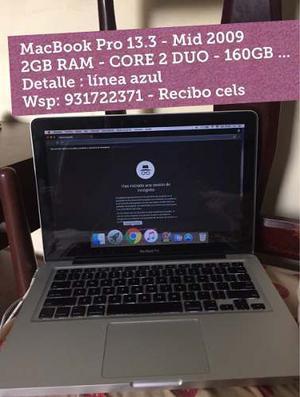 Macbook Pro 13.3 - Detalle