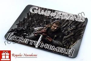 Mouse Pad Game Of Thrones   Juego De Tronos Personalizados