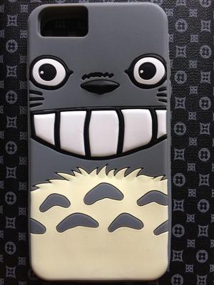 Nuevo Case Silicona iPhone 6-6S-7 Plus Totoro Anime Japonés