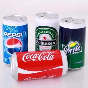 Batería Power Bank Portátil  Mah Coca Cola, Sprite Etc