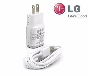 Cargador + Cable Lg G2,g3 G4 Original Carga Rápida 5v,1.8a