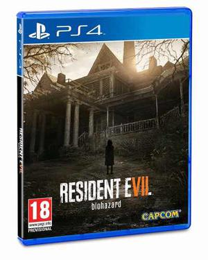 Resident Evil Vii Juego Ps4 Vr