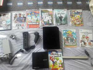 Nintendo Wii Flasheado Lector Externo Con 4originales