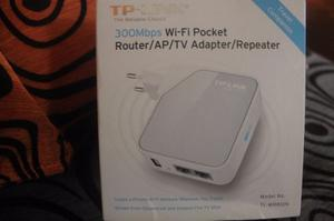 Tp-link 300 Mbps Wifi Pocket Router Ap Tv Adapter Repeater
