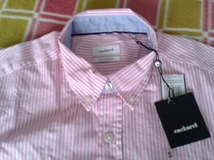 Camisa CACHAREL talla S manga corta NUEVA